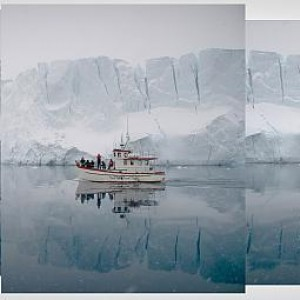 Greenland's icebergs - 35pts