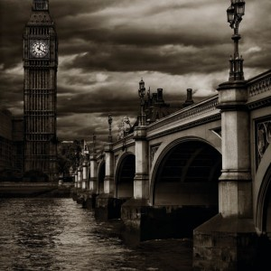 Westminster Bridge and clock tower - Editor's choice 13 November 2010