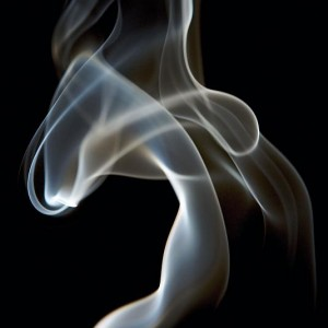 Smoke from incense stick - 30pts