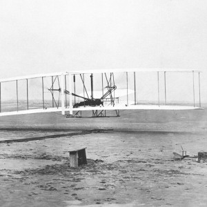 The Wright Brothers First Flight by John T. Daniels