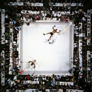 Muhammad Ali vs.Cleveland Williams by Neil Leifer