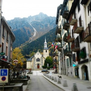 Chamonix at Christmas