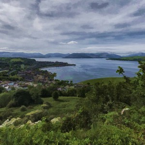 from Lyle Hill TO THE bANKS OF THE CLYDE
