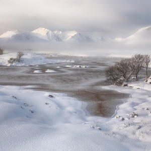 Glencoe winter scene
