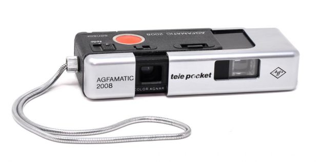 The Agfamatic 2008 Tele Pocket offered a choice of two focal lengths