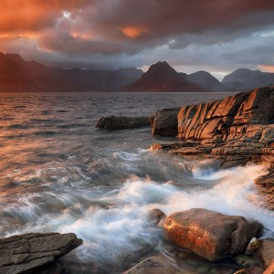 Elgol Stormy Sunset