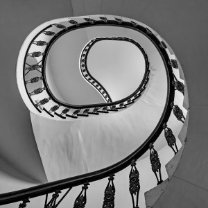 Stairs to Frome Museum