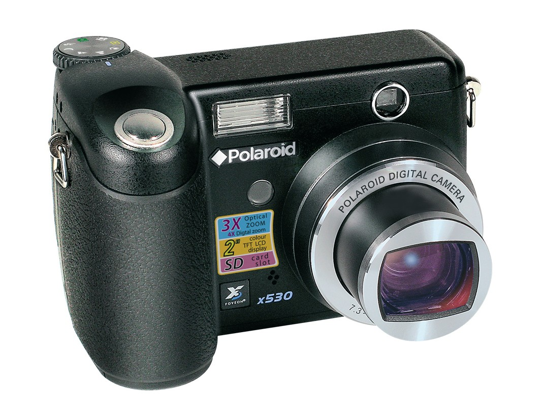 Polaroid x530 released by mistake