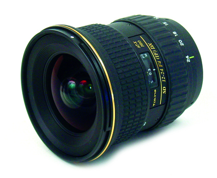 Tokina to launch 'ultra wide' digital SLR lens