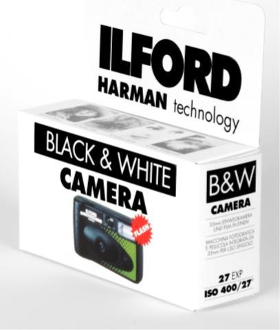 Public 'demand' sparks re-launch of Ilford b&w single-use camera