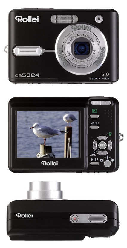 Rollei revs up digital double act