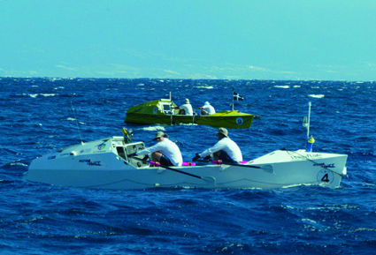 Photographer rows Atlantic for charity