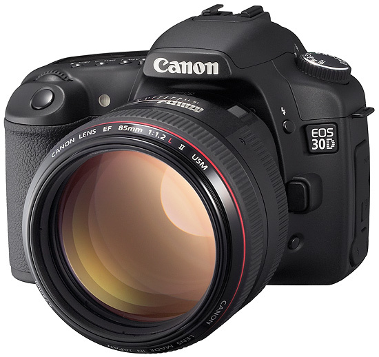 Canon revamps EOS 20D to launch £1099.99 EOS 30D