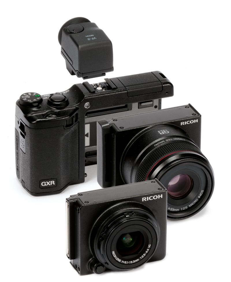 Ricoh GXR system review