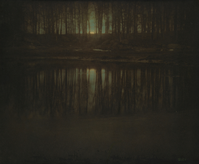 Edward Steichen – The Pond Moonrise – Icons of photography