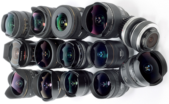 Round up of Fisheye Lenses