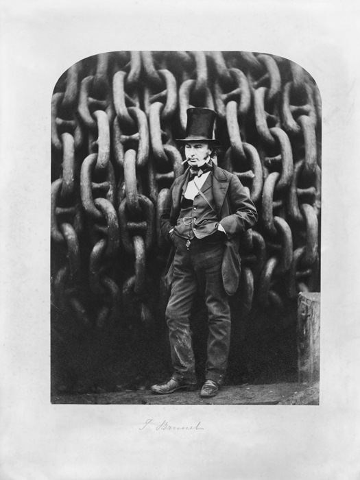 Isambard Kingdom Brunel by Robert Howlett – Iconic Photograph