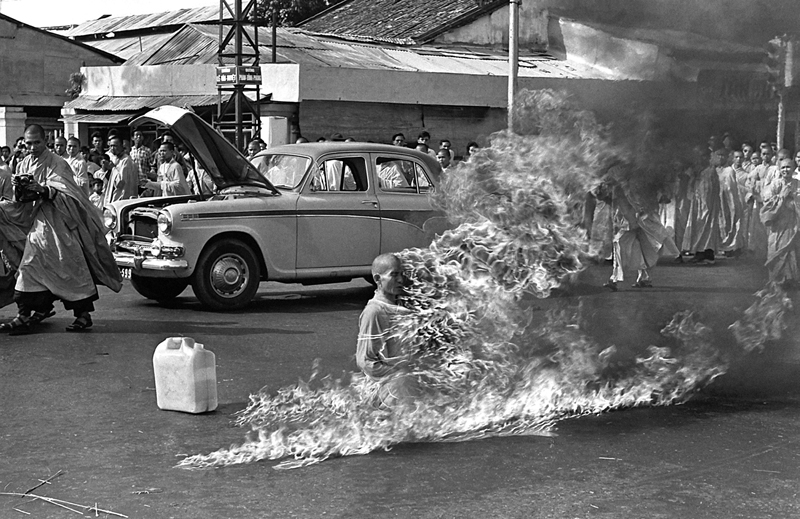 Protest of Thich Quang Duc – Iconic Photograph