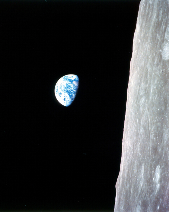 Earthrise from the Moon by William Anders – Iconic Photograph