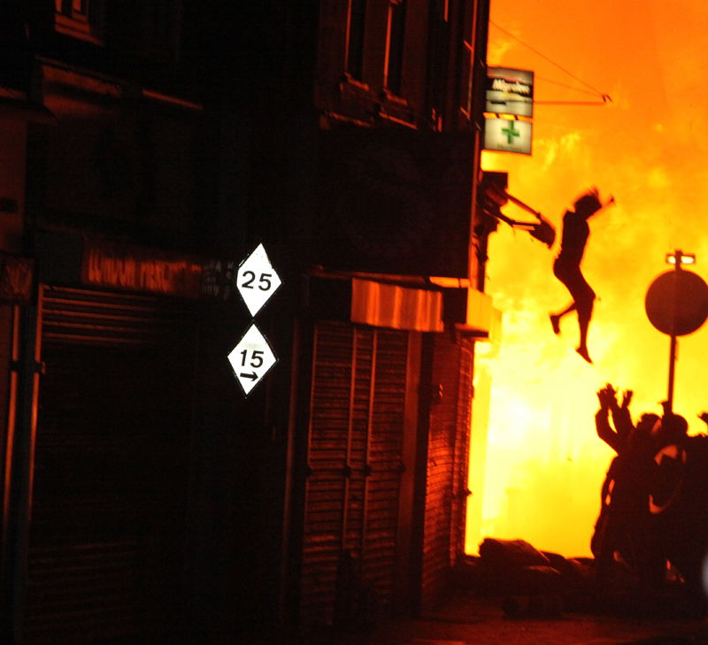 London Riots by Amy Weston – Iconic Photograph
