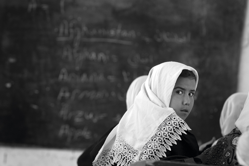 Photo Insight with Cathal McNaughton – Schoolgirl in Afghanistan