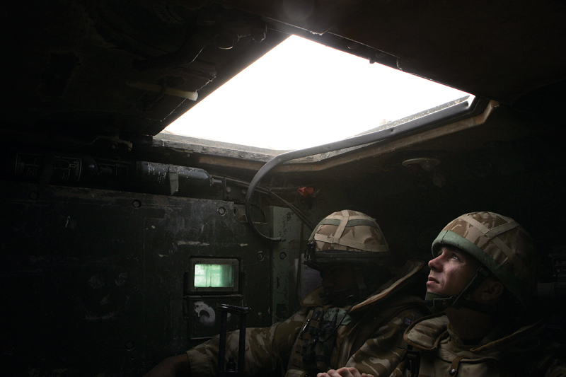 Photo Insight with Cathal McNaughton – Soldier in Iraq