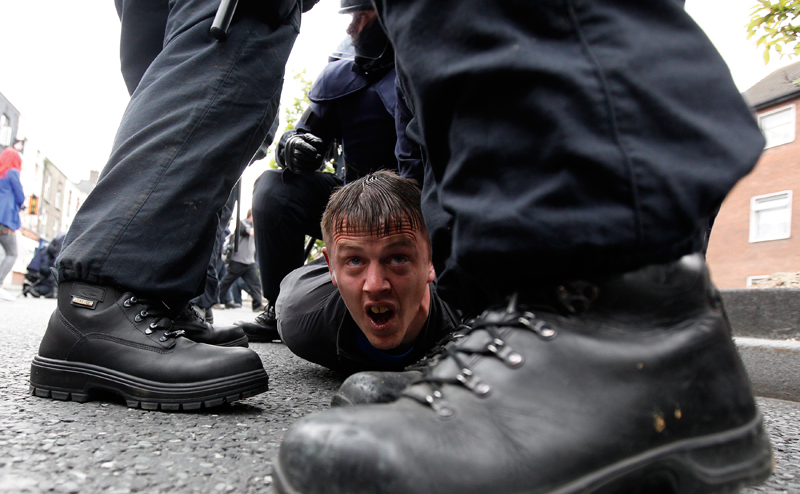 Photo Insight with Cathal McNaughton – Protester