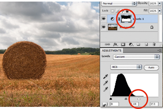 How to Use Levels Adjustment Layers