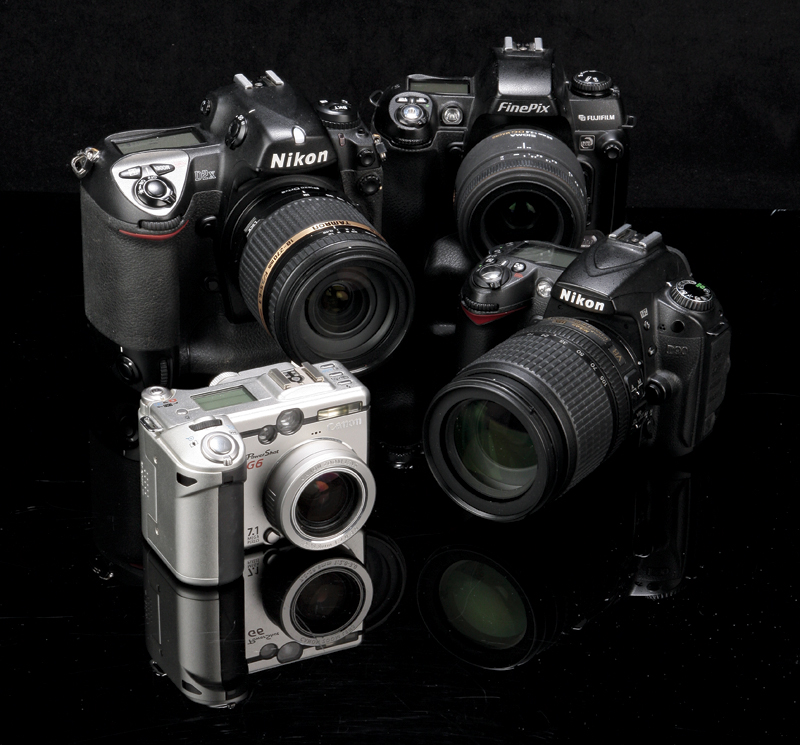 Classic digital cameras round up