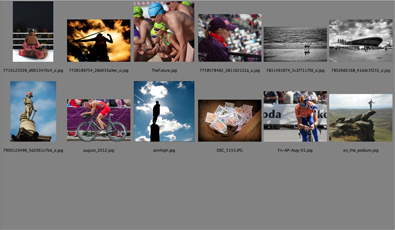Amateur Photographer forum competition results for the August 2012 round. The theme was 'Olympian.'