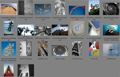 Amateur Photographer forum competition results for the October 2012 round. The theme was Above your head/Looking up