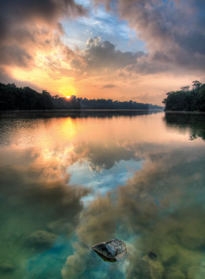 How to shoot HDR photography - River