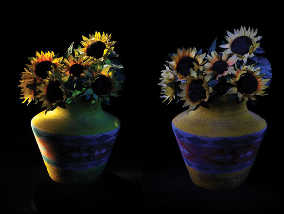 Indoor Photography - Painting by Torchlight Samples