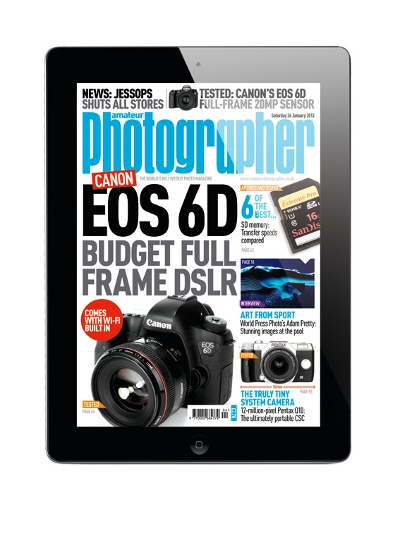 Amateur Photographer is now available EVERYWHERE! AP App promotion.