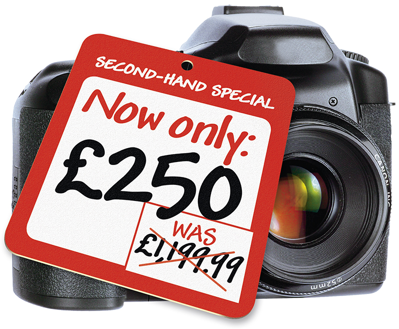 Buying a second-hand DSLR