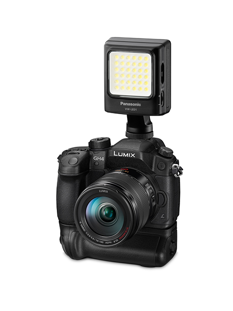 Panasonic Lumix GH4 armed with 4K video
