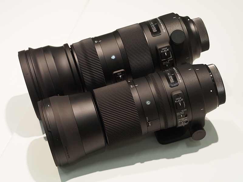 In Pictures: New Sigma 150-600mm telezoom lenses