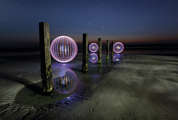 Light Painting, David Gilliver