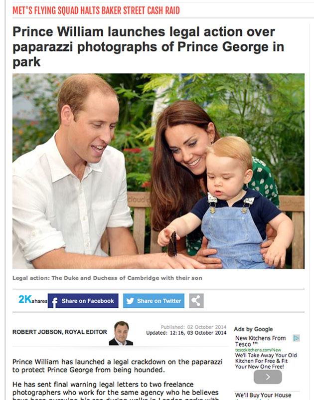 Did Prince George photographer do anything wrong?