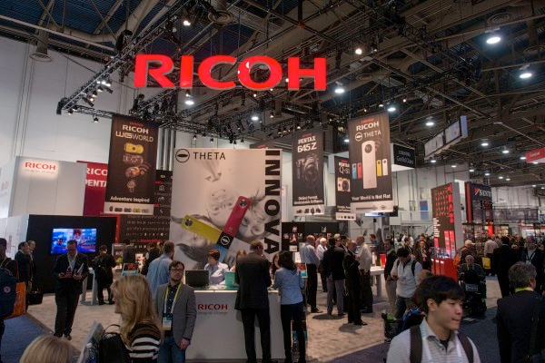CES 2015: Ricoh stand report, including new Pentax SLR and lenses