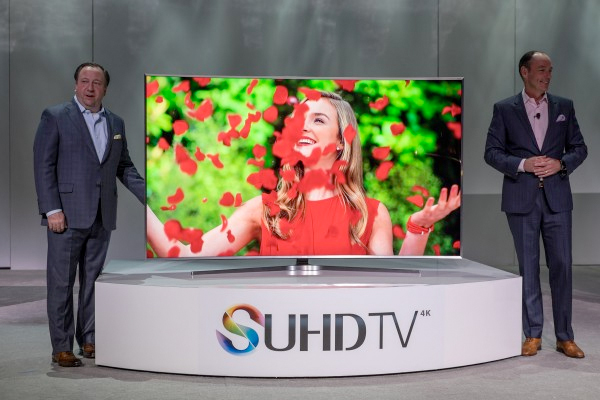 CES 2015: Samsung stand report