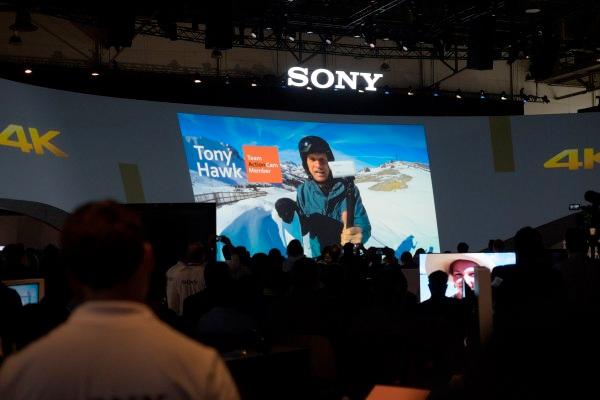 CES 2015: Sony stand report