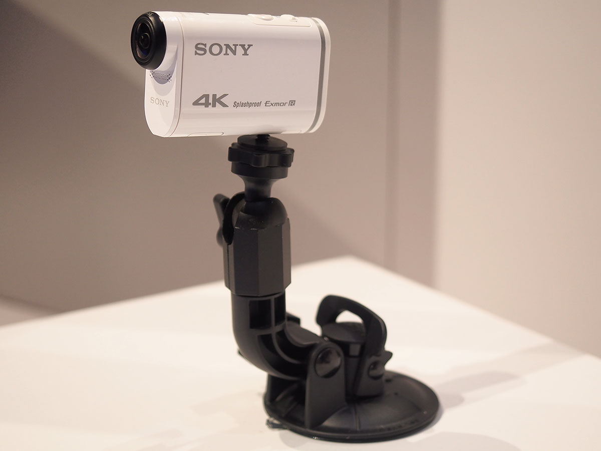 CES 2015: The Sony FDR-X1000VR captures action in 4K