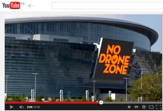 Drones banned at Super Bowl – what are the UK rules?