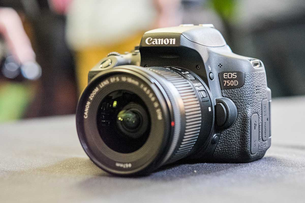 Canon EOS 750D Review – Hands-on First Look