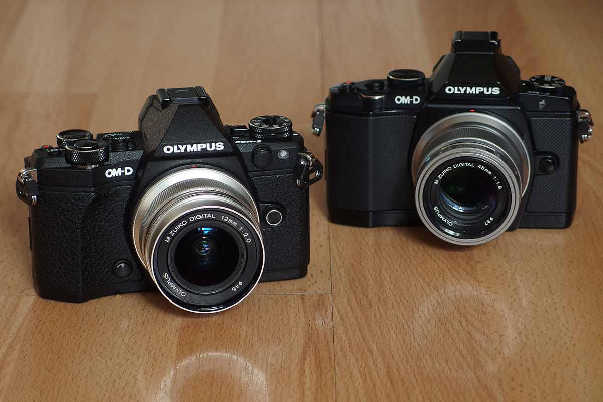 57 differences between the Olympus OM-D E-M5 Mark II and the OM-D E-M5
