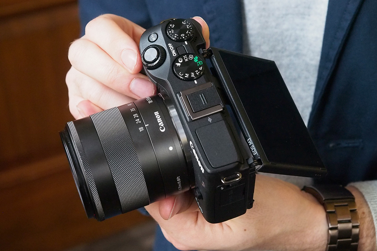 Canon EOS M3 Review – Hands-on First Look