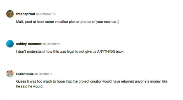 Cam crate comments