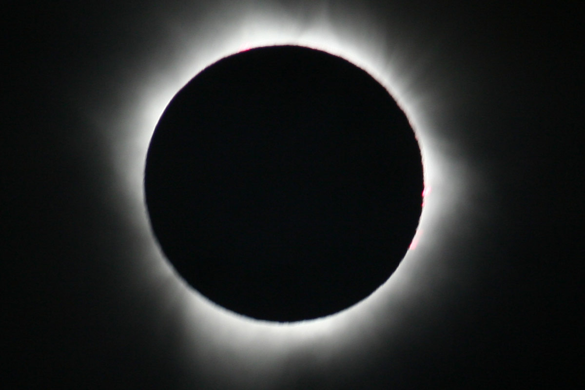 Photographers on Twitter capture the solar eclipse