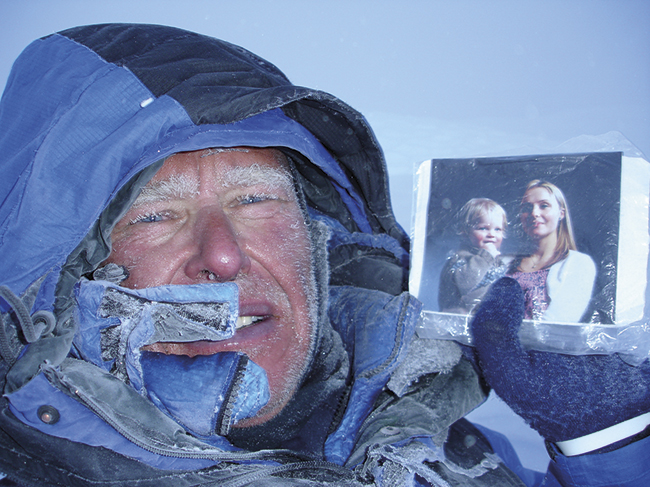 Alan Hinkes is an expert in mountain photography